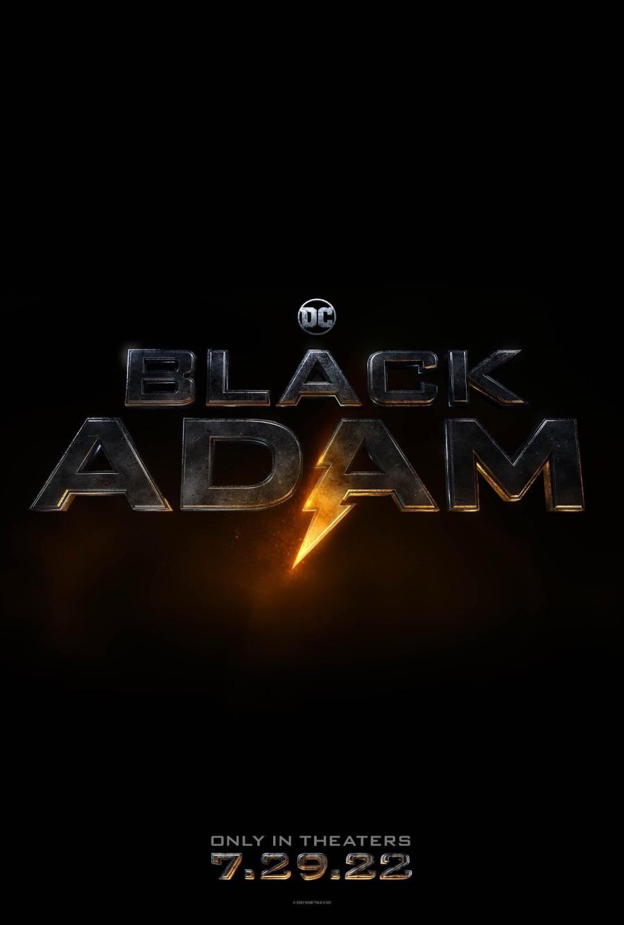 Black Adam release date poster