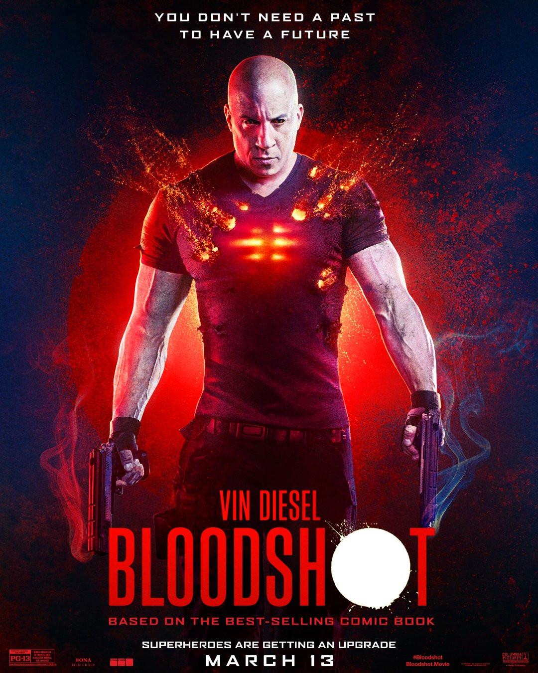 Vin Diesel Bloodshot poster
