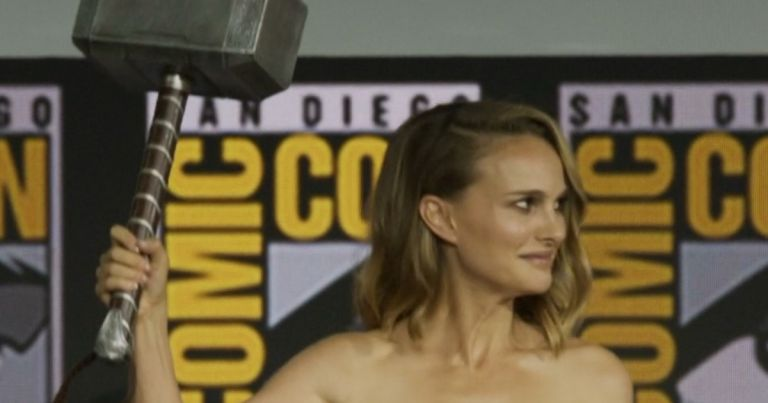 Natalie Portman Female Thor Love and Thunder