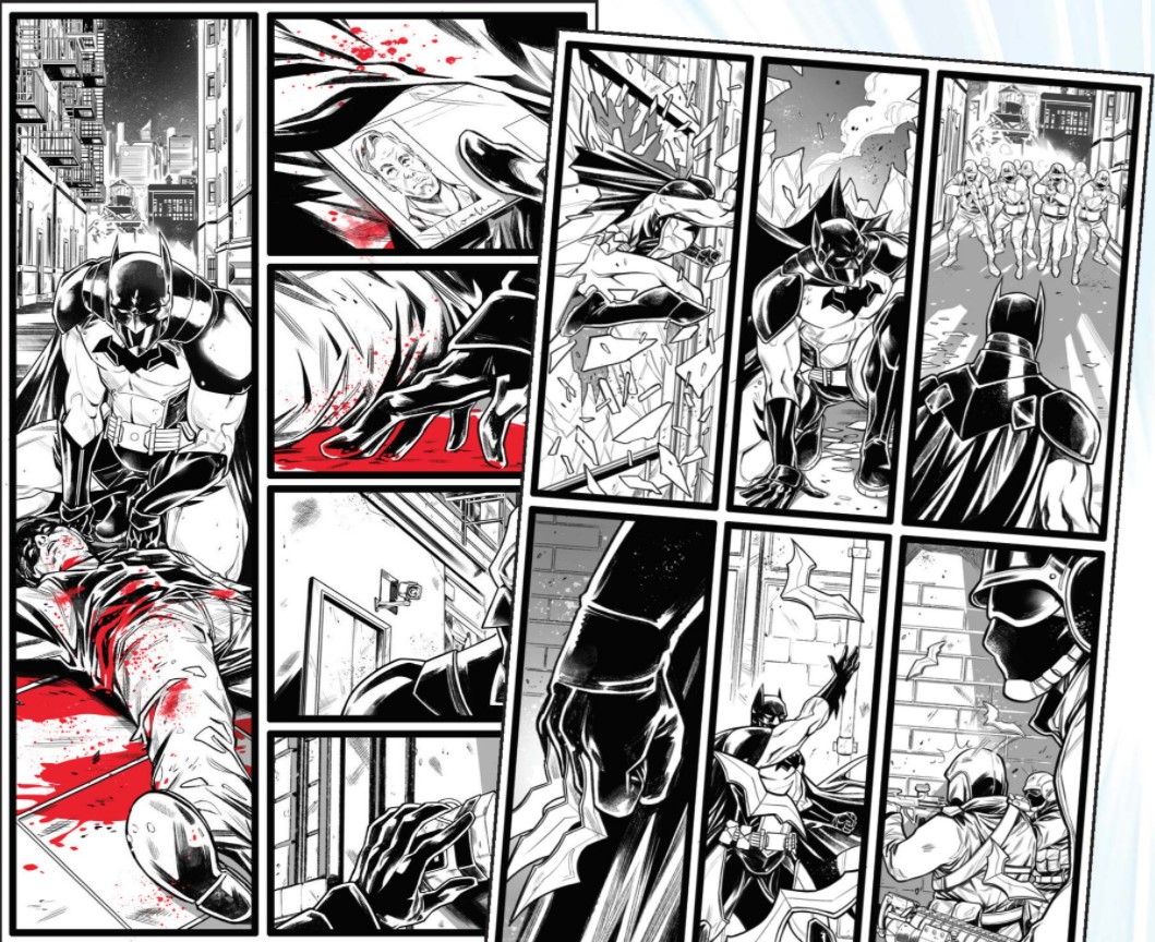 Future State: The Next Batman preview art