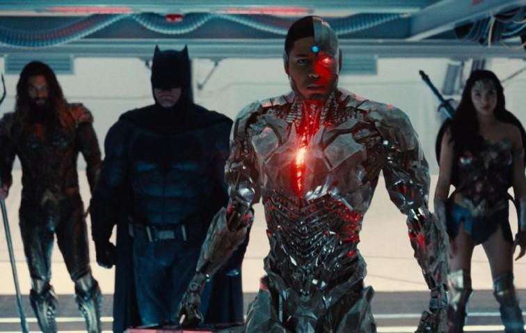 Ben Affleck Batman Ray Fisher Cyborg