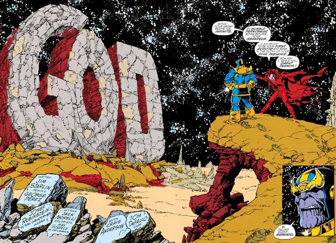Mephisto Marvel Infinity Gauntlet
