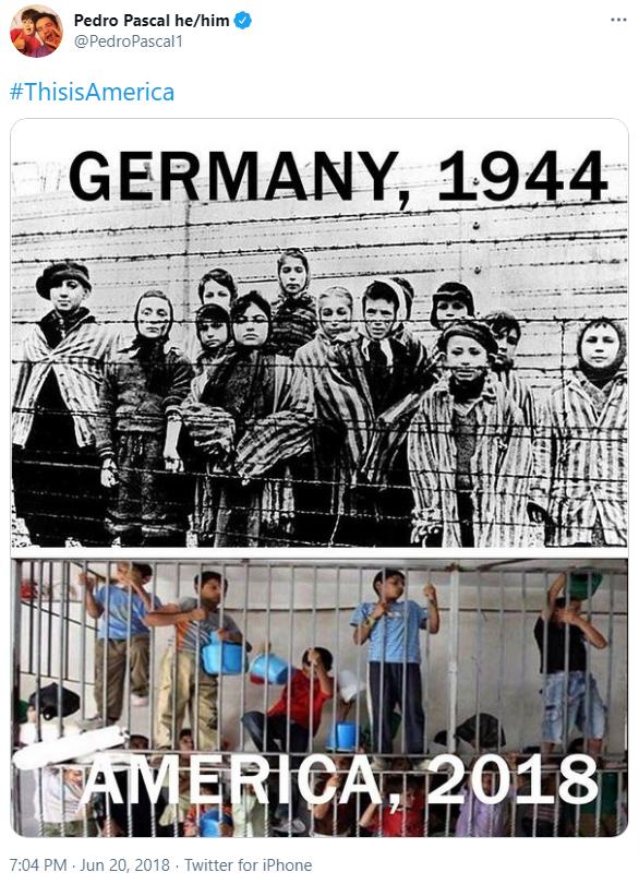 Pedro Pascal Nazis Jews