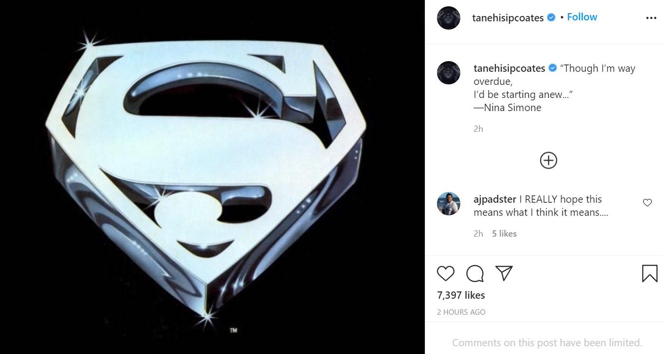 Ta-Nehisi Coates Black Superman