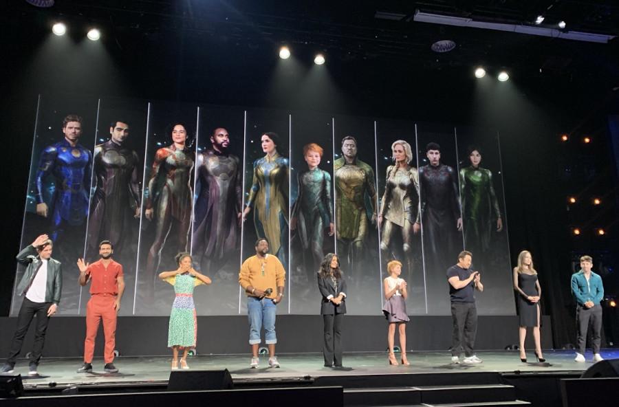 Marvel Eternals cast concept art