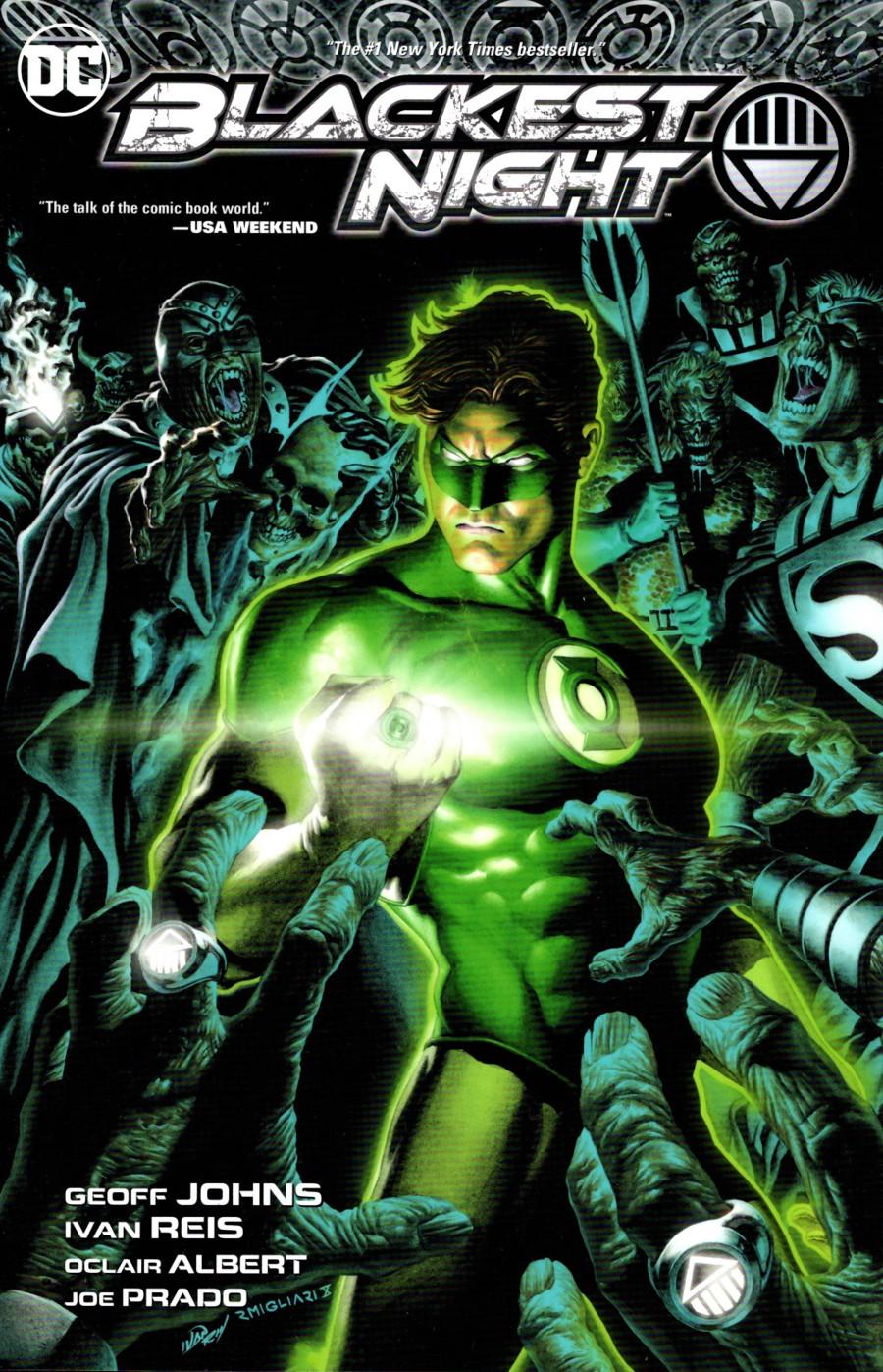 Green Lantern DC Comics Blackest Night