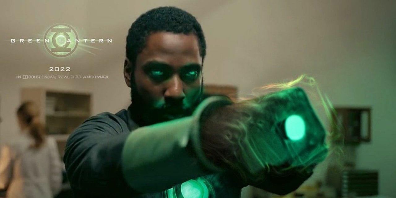 Green Lantern John David Washington